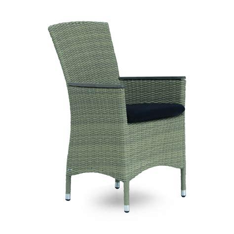 fauteuil de table de jardin en r 233 sine tress 233 e brin d ouest