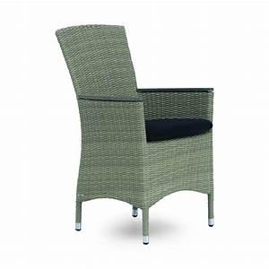 Fauteuil En Resine : fauteuil de table de jardin en r sine tress e brin d 39 ouest ~ Teatrodelosmanantiales.com Idées de Décoration