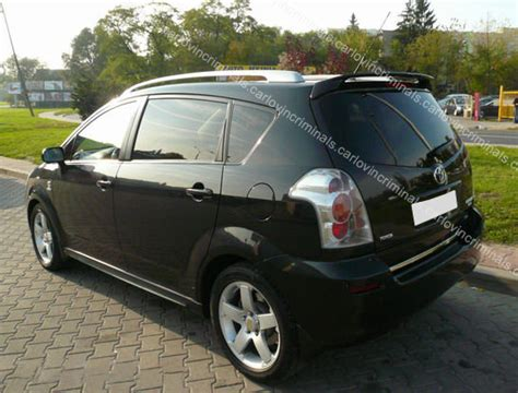 Toyota Corolla Verso Spoiler
