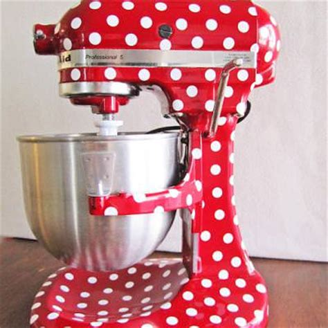 Polka Dot Your Kitchen Aid Mixer {kitchen}  Tip Junkie
