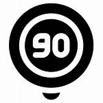Speed Limit Icons Icon