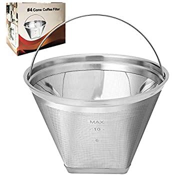 Permanent reusable filter (you can use paper filters instead if you prefer). Amazon.com: Think Crucial Replacement Filter Compatible with Ninja Coffee Filter, Fits Ninja ...