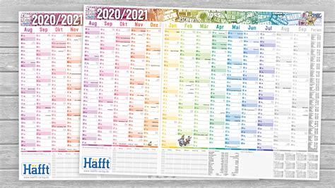 aussergewoehnliche schuelerkalender  von der haefft