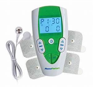 Accurelief Dual Channel Tens Electrotherapy Pain Relief
