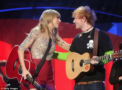 Ed Sheeran and Taylor Swift spark romance rumours after ...