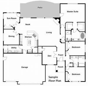 Floor Plan Diagrams Using Cad Pro