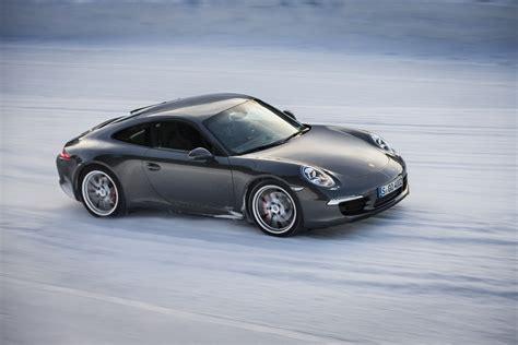 porsche winter driving experience  wvideo autobloggr