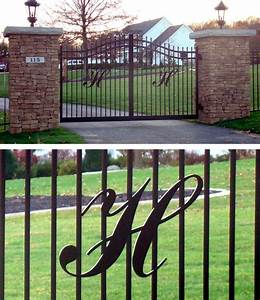 luxury gifts gate monogram With gatehouse letters
