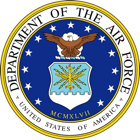 u bureau file seal of the united states department of the air
