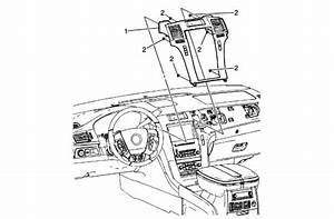 2003 Cadillac Escalade Instrument Panel Diagram