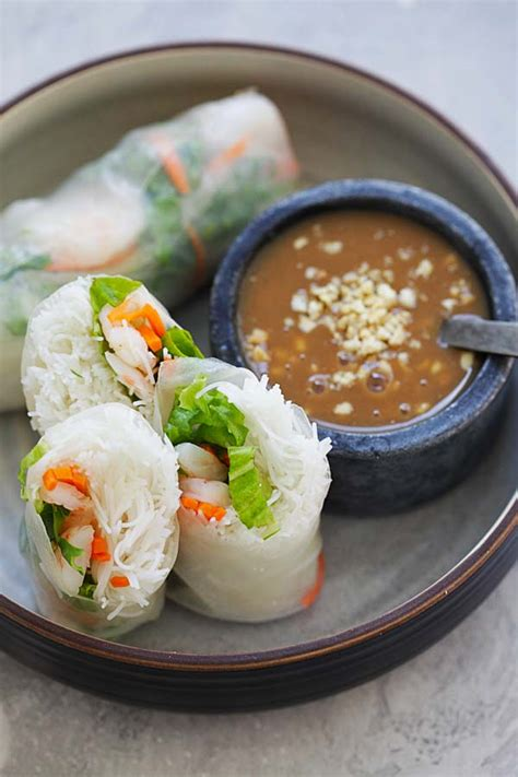 summer rolls easy delicious recipes