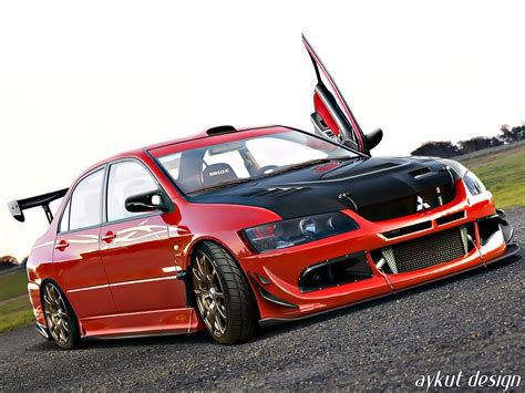 modified mitsubishi lancer mitsubishi lancer evolution 8 modified image 201