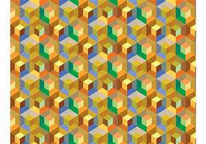 Cube Pattern Background Vector - Download Free Vector Art ...
