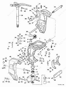 Evinrude 1998 200 - Se200wtpxg  Midsection