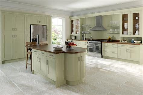 green shaker style kitchen sheraton painted wood shaker 4homes 4039