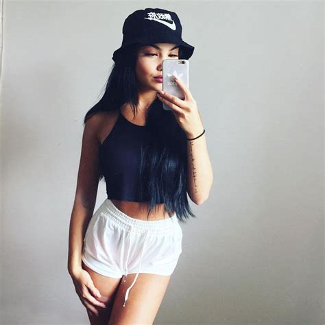 amanda khamkaew  instagram hat  shorts