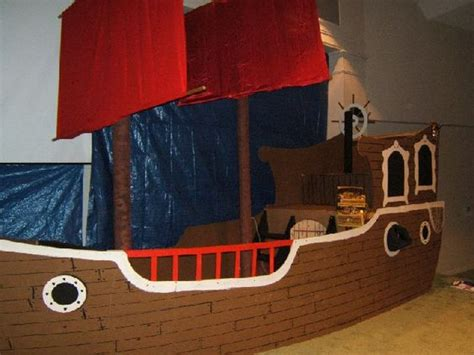 Pirate Ship Cardboard Boat by Kidology Kidology Forums Building A Pirate Ship For A