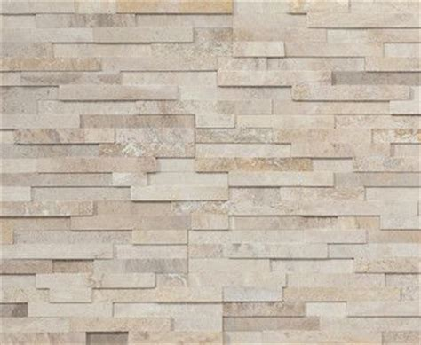 stacked travertine latte is available in a honed or ledgestone finish in creamy travertine stacked stone
