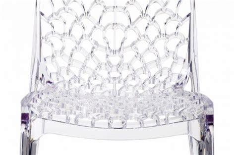 chaises transparentes pas cher lot de 2 chaises transparentes gruyer chaises design pas cher