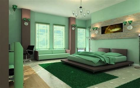 15 inspirations of wall accents colors for bedrooms