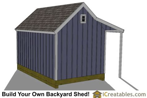 10 x 16 colonial shed plans 10x16 colonial garden shed with porch plans