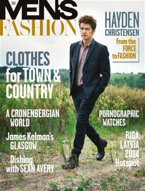 Fashion Magazine  Men's Fashion Fall 2013 Subscriptions