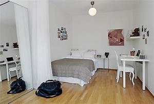 Apartment Einrichten Ideen : einraumwohnung einrichten funktionell und behaglich ~ Markanthonyermac.com Haus und Dekorationen