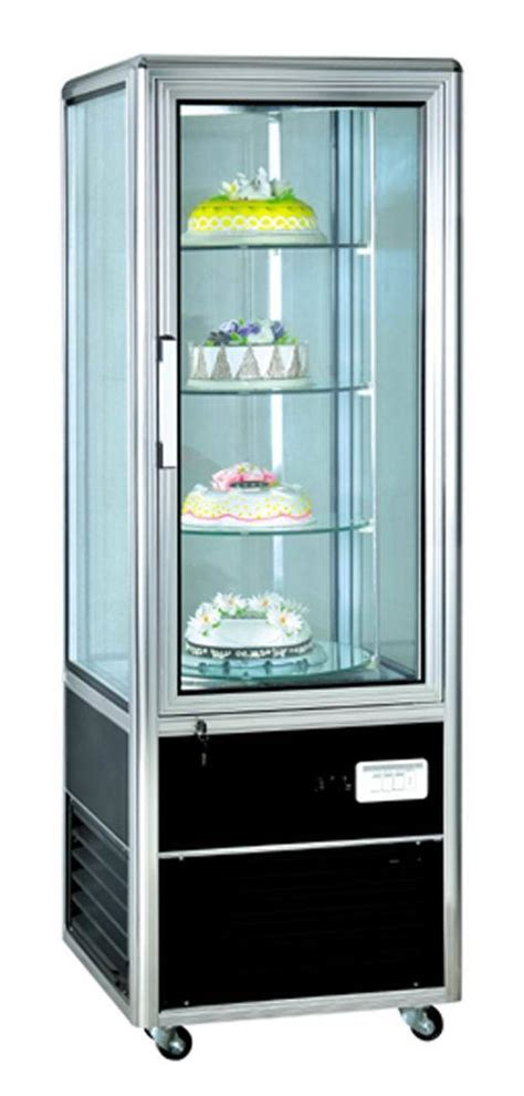 cake cabinet 1 door silvery cake display cabinet cl428flx4 photos