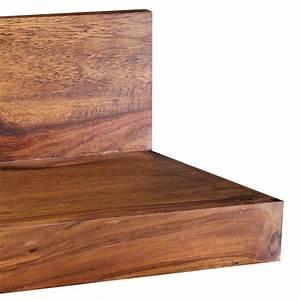 Wandregal Holz Design : wohnling massivholz wandregal 160 cm sheesham wandboard regal massiv holz m bel ebay ~ Sanjose-hotels-ca.com Haus und Dekorationen