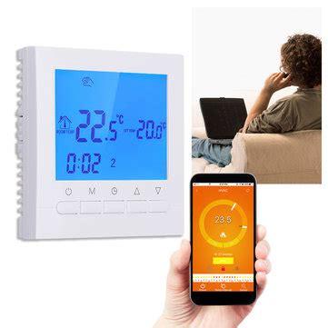 fußbodenheizung steuerung wlan wlan lcd wireless smart programmierbare thermostat fu 223 bodenheizung app steuerung verkauf