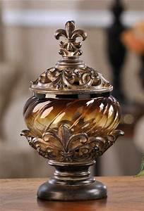 PolystoneGlass Fleur De Lis Gifts Home Decor Fleur De