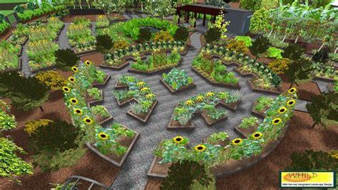 mandala garden design 3d community garden mandala 1 coffs regional community gardens