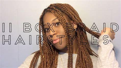 11 easy crochet box braids hairstyles youtube