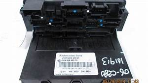 2006 Mercedes C280 Sam Relay Fuse Box Oem 2095452801
