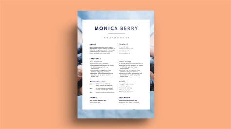 The Best Font For A Resume by 50 Desain Resume Yang Menginspirasi Canva