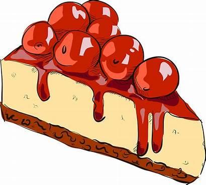 Cake Cheesecake Cherry Queso Cerezas Redbubble