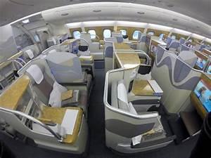 Emirates A380 Business Class between Australia & New ...