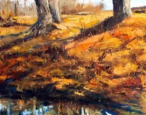 jonathan van brunt palette knife landscape paintings