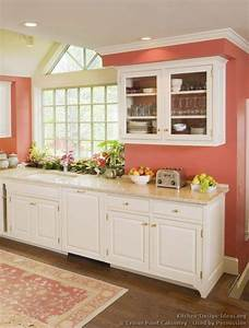 best 25 coral kitchen ideas on pinterest coral walls With kitchen colors with white cabinets with white rose wall art