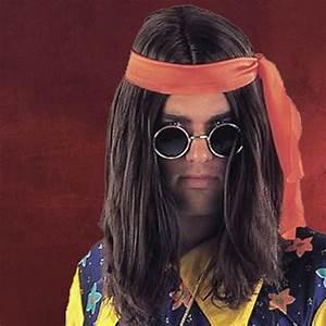 Hippie Look 70er : hippie per cke braun schulterlang 70er jahre style ebay ~ Frokenaadalensverden.com Haus und Dekorationen