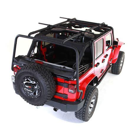 jeep jk roof rack rugged ridge 11703 02 sherpa roof rack 07 16 jeep
