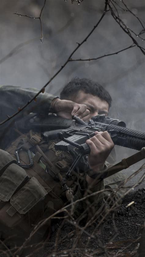 wallpaper soldier uniform sniper military