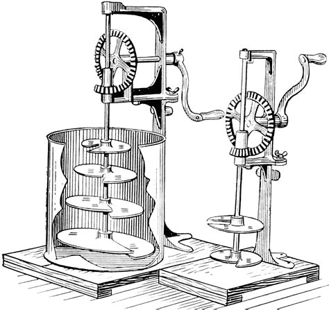 paint mixing machine clipart