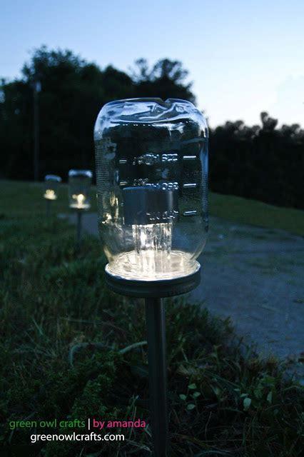 jar solar lights doren farm upcycled jar solar lights