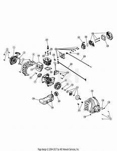 Troy Bilt Tb42bc 41adz42c766  41adz42c766 Tb42 Bc Parts Diagram For Engine Assembly