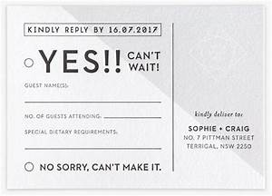 wedding stationery packages the distillery With wedding invitation rsvp dietary requirements