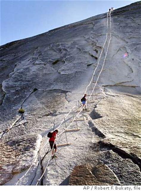 yosemite national park deadly trek   dome
