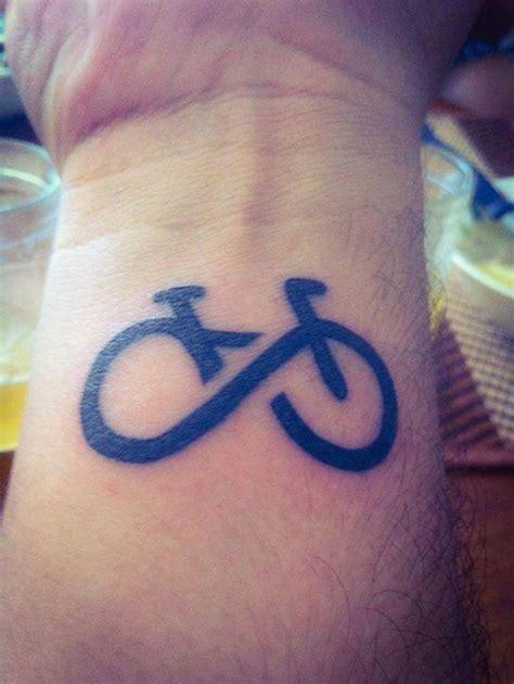 simple bike tattoos