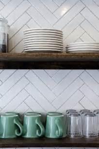 Backsplash Tile Patterns For Kitchens Kitchen Backsplashes Dazzle With Their Herringbone Designs