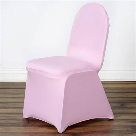 pink spandex chair cover efavormart